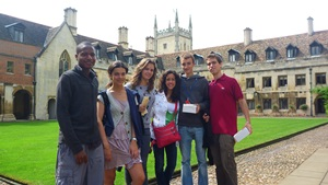 Students from all over the globe attend Reach Cambridge programs
