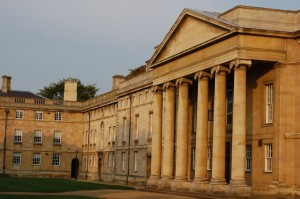 Downing College, one of the two Colleges Reach students are staying in this July.