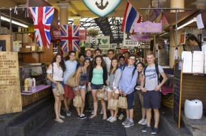 Reach students at Greenwich Market