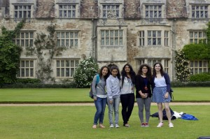 Reach Students enjoying Anglesey Abbey