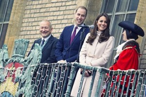 The Duke and Duchess visit Cambridge