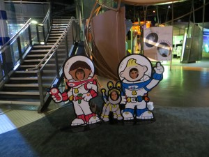 Fun at the space centre!