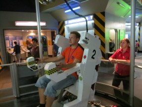 Simulation fun at the National Space Centre