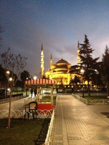 Blue Mosque. Istanbul, Turkey.