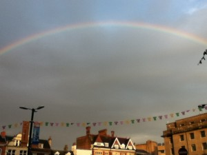 Rainbow over Cambridge