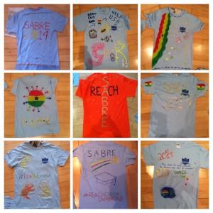 Sabre t-shirt printing