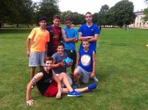 Student Team. Football tournament final 2014.