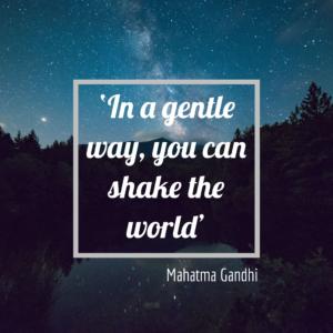 M. Gandhi Quote