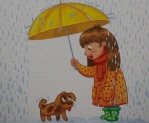 Umbrella animation